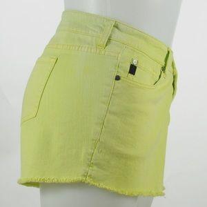 Torrid - Lime Green Denim Shorts - Size 20